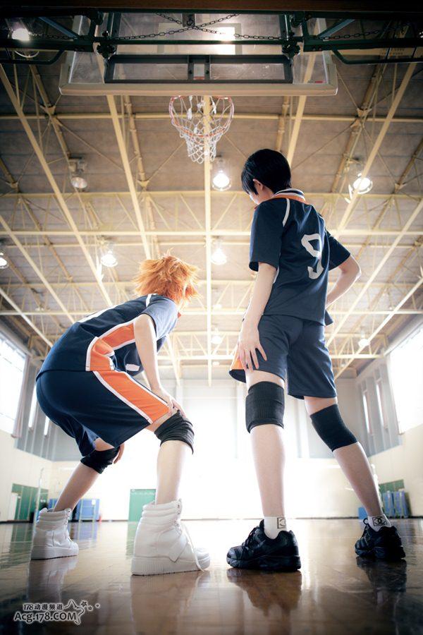 少女化身可爱的男孩子!日本coser演绎「排球少年!」