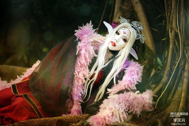 台湾名COSer之 霹雳布袋戏 妖后COS图片